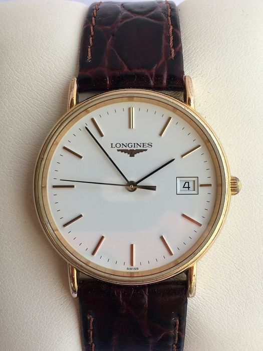 Longines - 18 Kt Gold Plated - L.4.636 - Unisex - 1990-1999