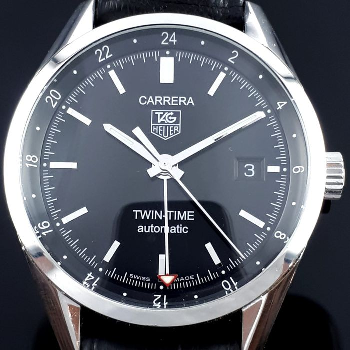 TAG Heuer - Carrera, Twin-Time,Automatic  - WV2115-0 - Bărbați - 2011-prezent