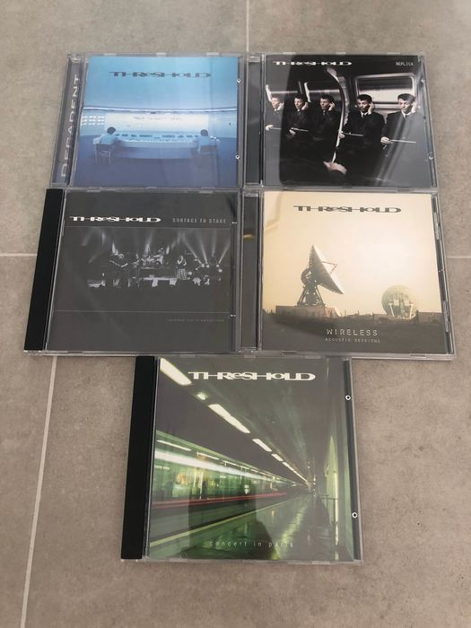 Threshold - Fan Club CD Collection Limited Edition - Multiple titles - CD, Limited edition - 1999/2009