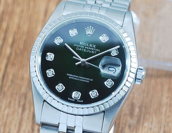 Rolex - Oyster Perpetual DateJust  - 16220 - Men - 1980-1989
