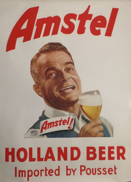 Anonymous - Amstel Beer - 1950s