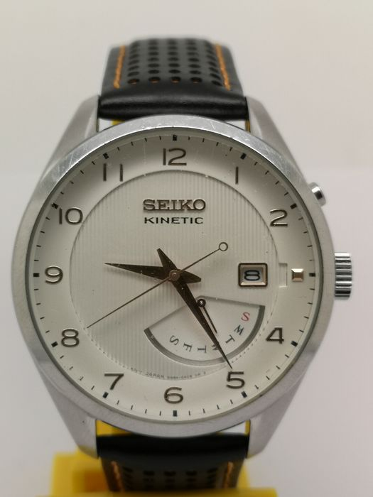 "Seiko - ""NO RESERVE PRICE"" Kinetic 5M84-0AC0 - Men - 2011-present"