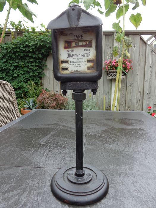 Old Indian Daimond taximeter - 1953