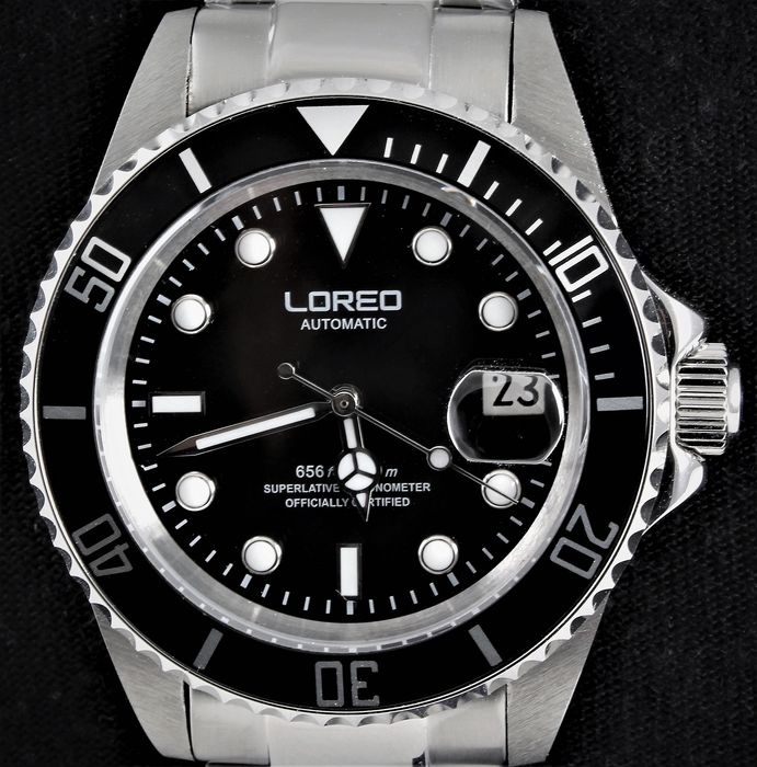 """Loreo - Classic Diver - Automatic - """"NO RESERVE""""! - Brand New - with extra GIFT - Men - 2019"""