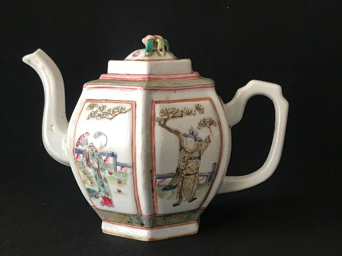 Teapot - Porcelain - China - Late 20th century