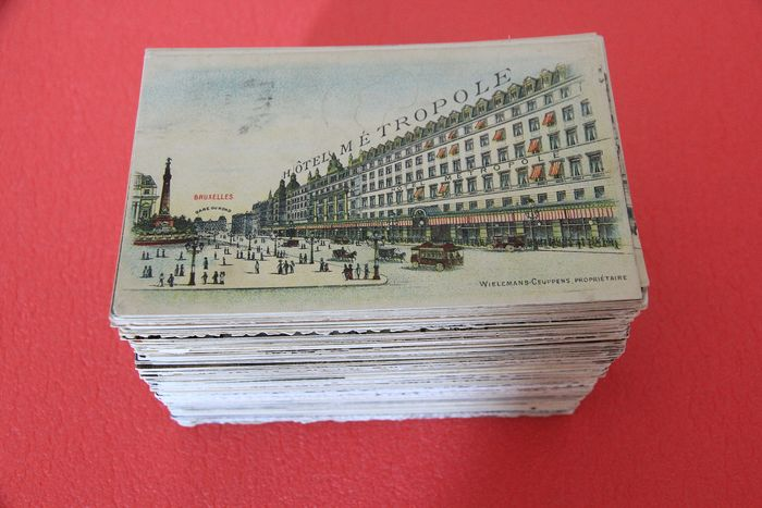 Belgium - City & Landscape - only Brussels Tram Animation Stations - Postcards (Collection of 275) - 1900-1950