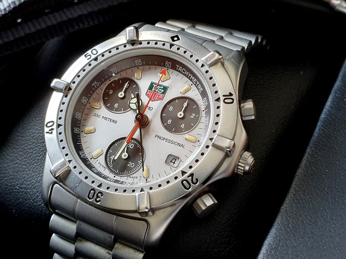TAG Heuer - Tag Heuer Professional 2000  Chronograph in very good condition  -  560.206R - Men - 1990-1999