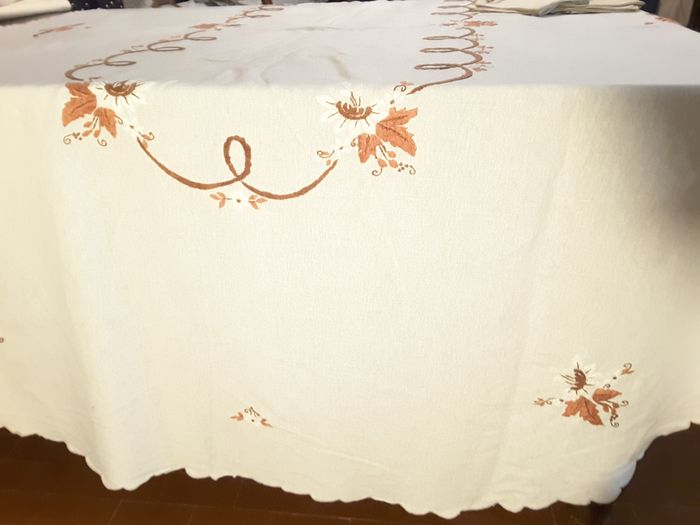 oval tablecloth (13) - Cotton