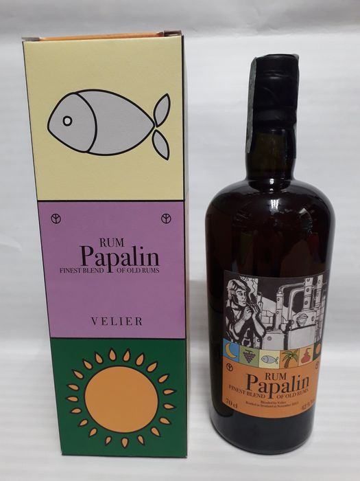 Papalin Velier - Finest Blend of Old Rums - b. 2013 - 70cl