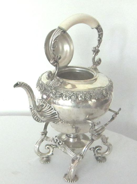 christofle - Christofle - Teapot (1) - Restauration - Silverplate