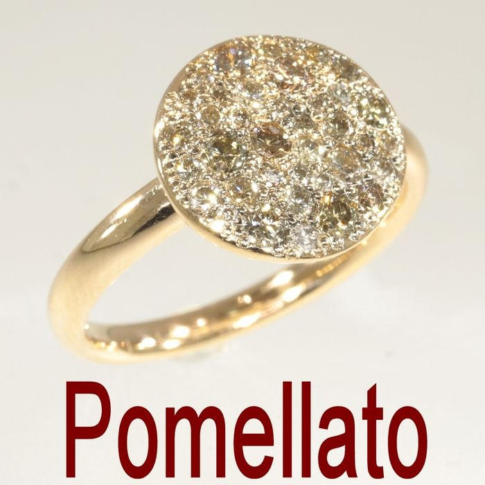 Pomellato - 18 kt. Pink gold - Ring - Diamond TDW 1.00 ct - NO RESERVE PRICE