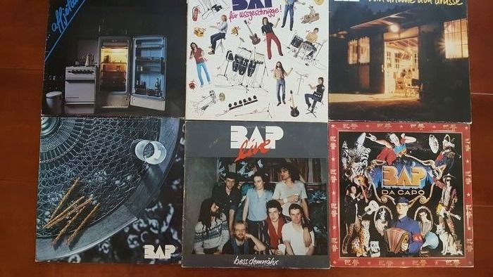 BAP - 5 x LP en 1 x dubbel Lp - Multiple titles - 2xLP Album (double album), LP's - 1980/1988