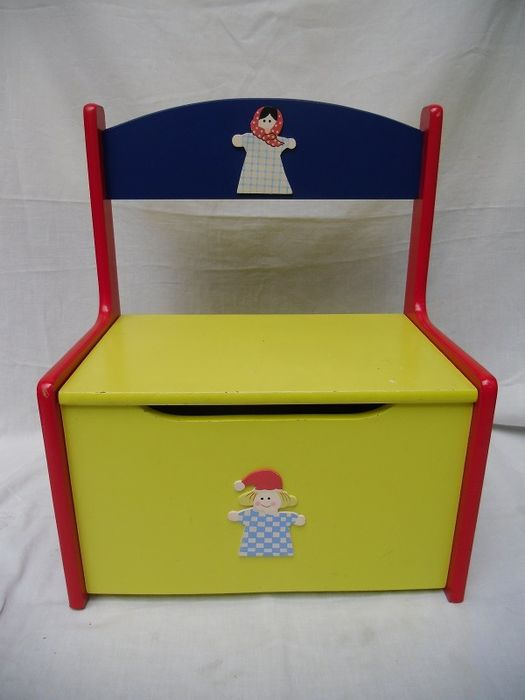 Fine Mondrian Style And Colours Storage Box Childrens Bench Dailytribune Chair Design For Home Dailytribuneorg
