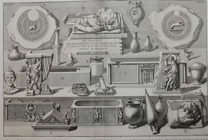 "Giovanni Battista Piranesi (1720-1788) - 1 plate from ""Le antichità romane"""
