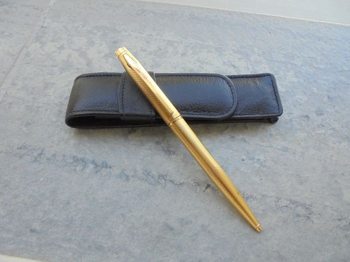 Elysee - Ballpoint - Gold plaque Elysee Vogue model pen