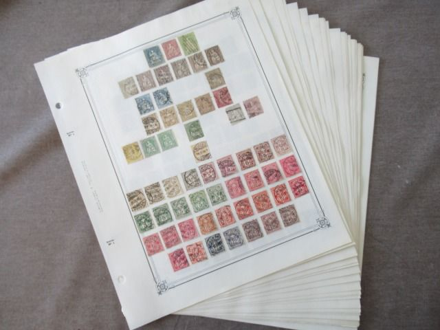 Zwitserland - Advanced collection of stamps