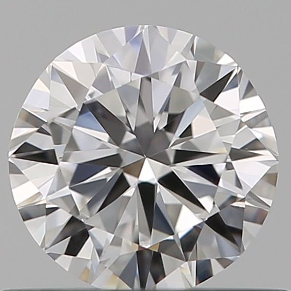 1 pcs Diamant - 0.50 ct - Briljant - D (kleurloos) - VVS1, ***low reserve***