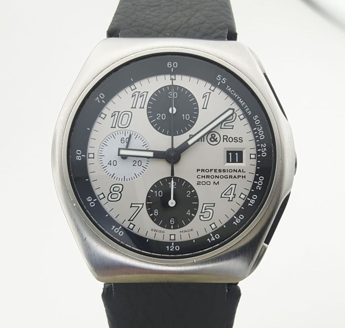 "Bell & Ross - Space 3 Chronograph Automatic ""NO RESERVE PRICE"" - 300.a - Herren - 2011-heute"