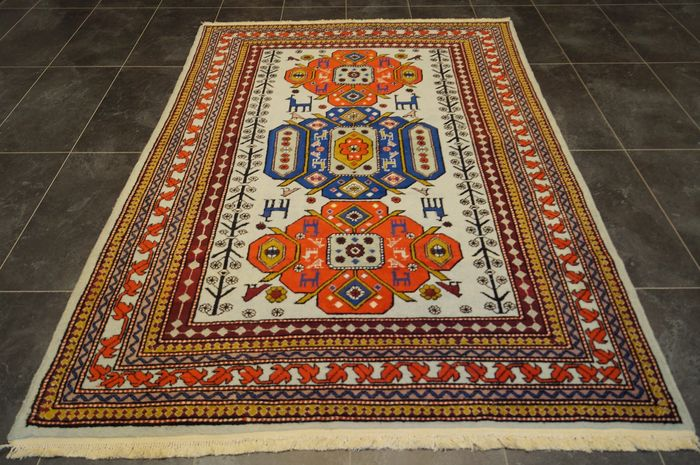 Derbent Kazak - carpet - 227 cm - 150 cm