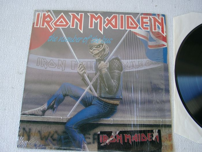 Iron Maiden - The Number Of The Bus  - Multiple titles - LP's - 1987/1987