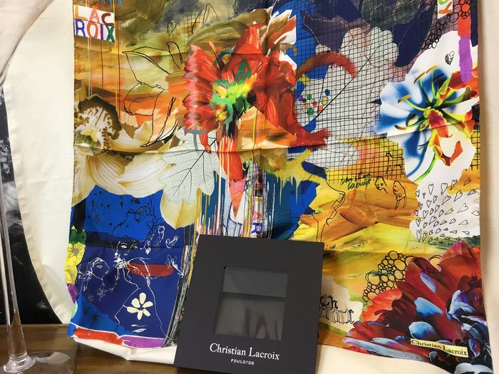 Christian Lacroix SCARF Silk Without Reserve Price