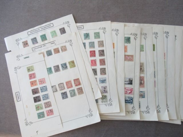 Franse kolonie - Collection of stamps including China