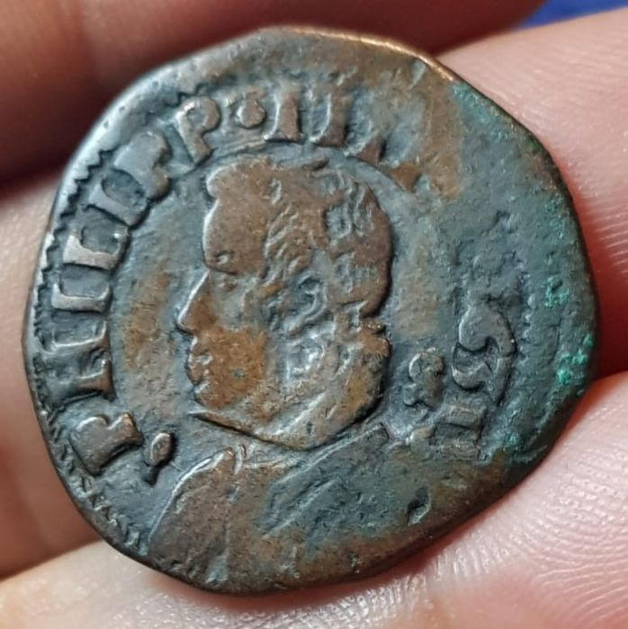 Italy - Kingdom of Naples - Filippo IV - Tornese MOLTO RARO R2 1631