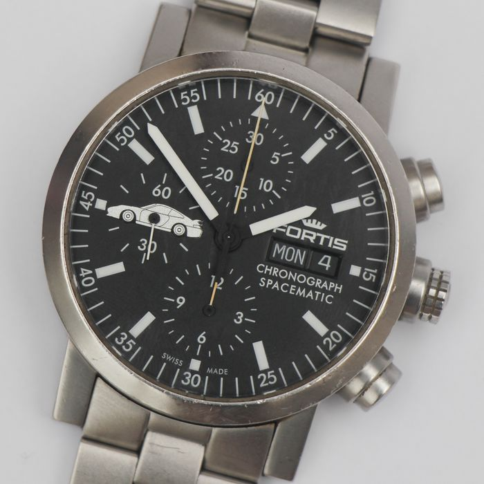 Fortis - Spacematic Chronograph Limited Edition Day Date - 625.22.141 - Men - 1980-1989