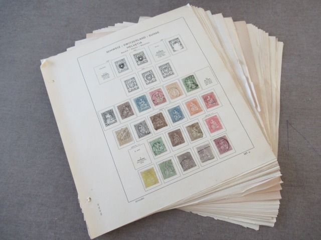 Zwitserland 1854/1961 - Advanced collection of stamps
