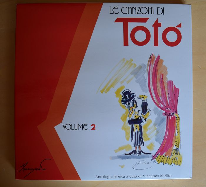 Le Canzoni di Totò Vol. 1 Vol. 2 - Vinyl, LP, Compilation, Picture Disc, Box - Løs side - Første udgave - (1989)