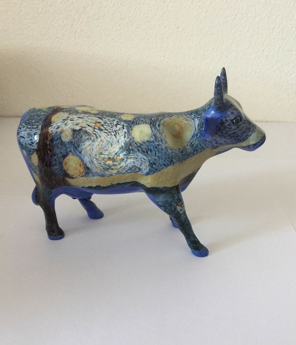 Jerry Winkler - CowParade - Ceramic object (1) - Earthenware