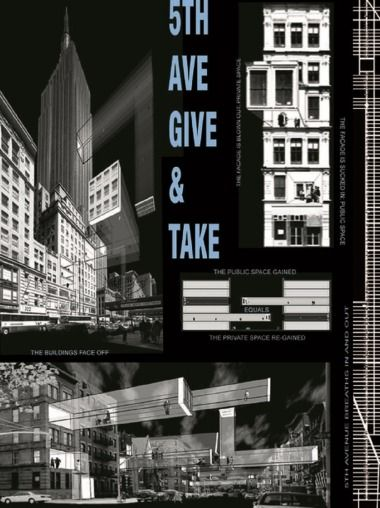 Vito ACCONCI - 5th Avenue give and take
