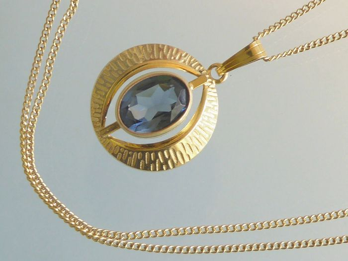 Kordes & Lichtenfels - Gold plated - Necklace with pendant