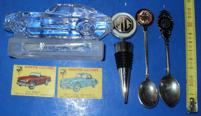 Collector Items - Mg - Mg 6 Verschillende Collector Item's - 1960-1960