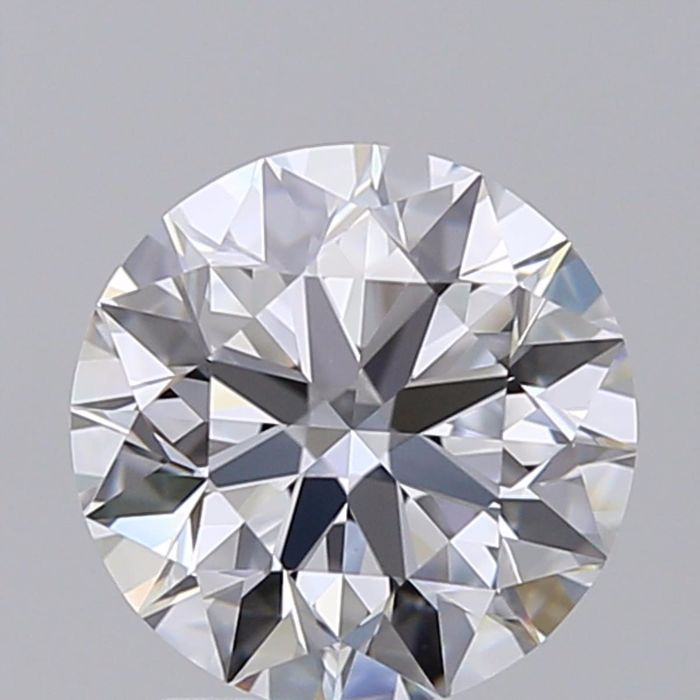 1 pcs Diamond - 1.02 ct - Brilliant - D (colourless) - IF (flawless), ***3EX***