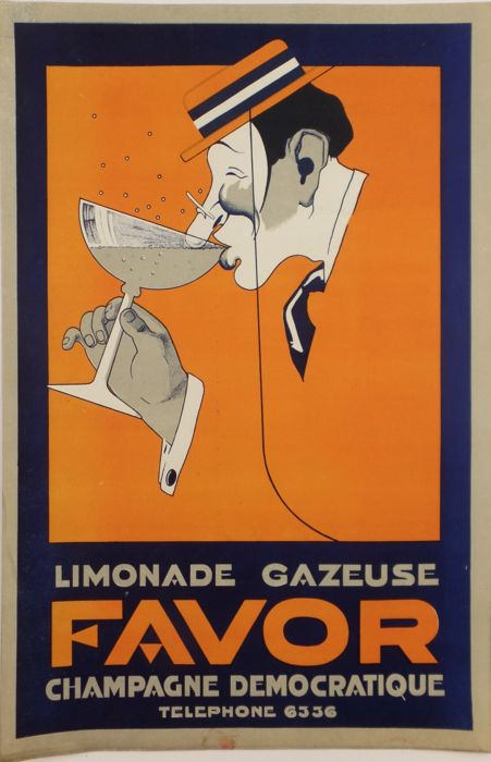 Anonymous - Favor lemonade gazeuse - 1920s