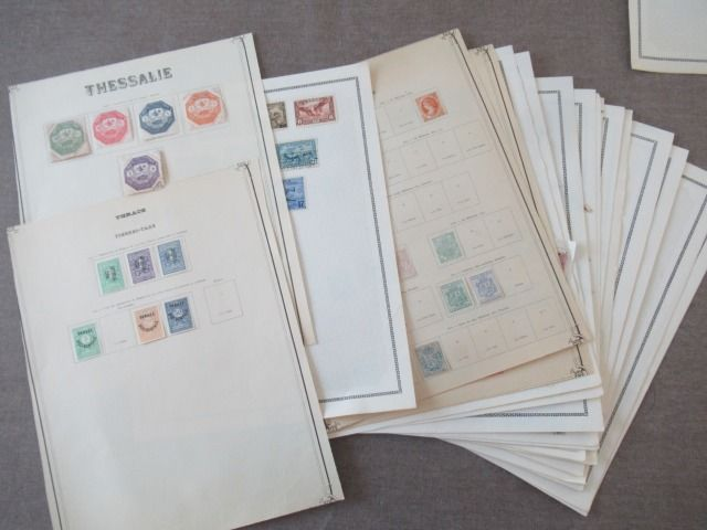 Wereld - Collection of stamps