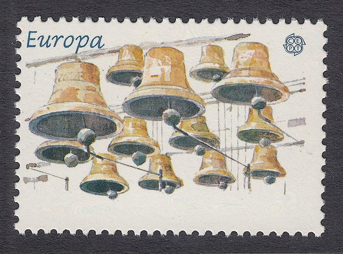 Pays-Bas 1981 - Europe stamp with printing error - NVPH 1225f