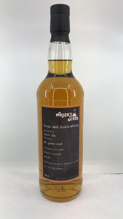 Caol Ila 1990 28 years old - Whisky Nerds - b. 2000 bis heute - 0,7 l