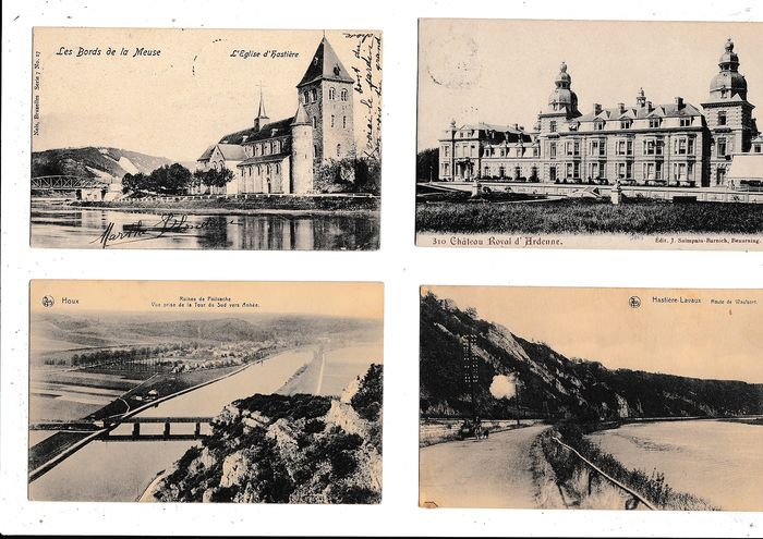 Belgium - Miscellaneous - WALLONIA - ARDENNES - Postcards (Collection of 340) - 1905