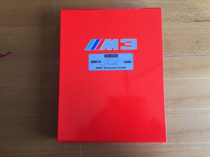 Books - BMW - M3 17.970 Emotions 1989 Cecotto LIMITIERT UND SIGNIERT 421/505 - 1991