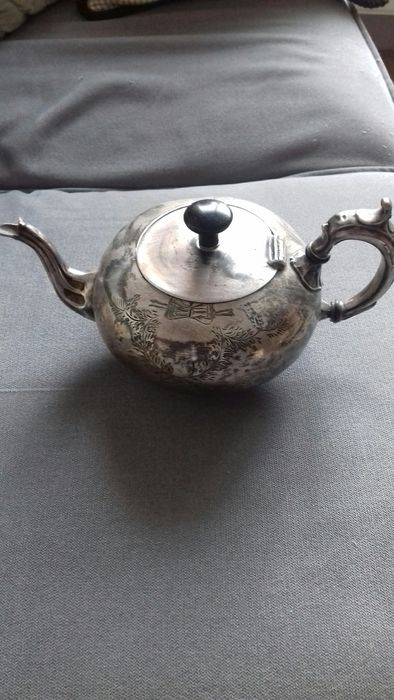 Teapot - Silver plated