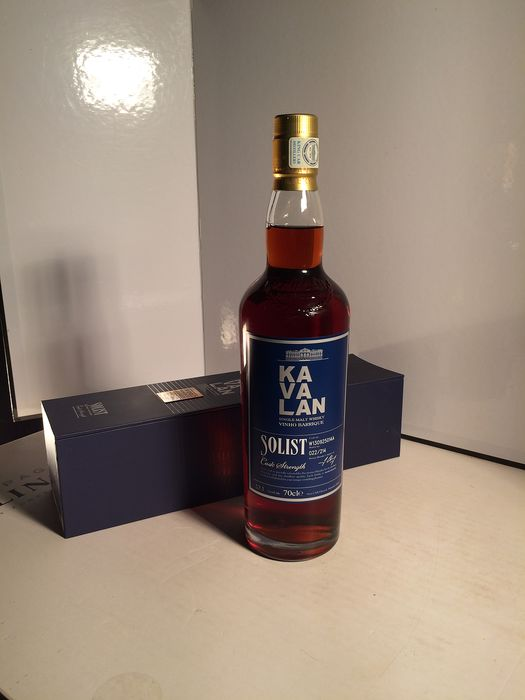 Kavalan Solist, Vinho Barrique, N° 022/214 - 70cl