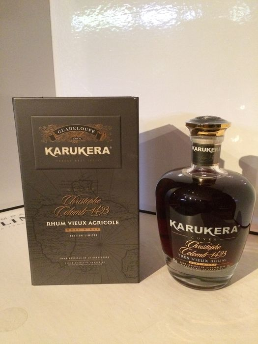 """Karukera - Cristophe Colomb 1493, Rhum Hors D'age, """"Limited Edition"""" - 70cl"""