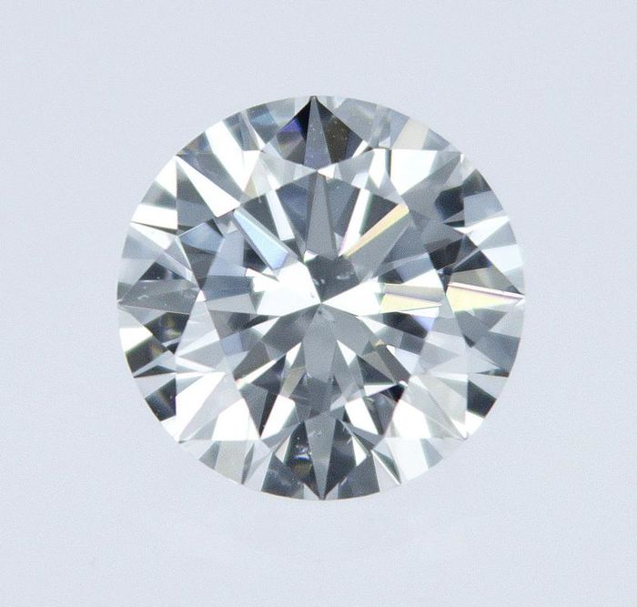1 pcs Diamond - 0.61 ct - Round - E - SI1