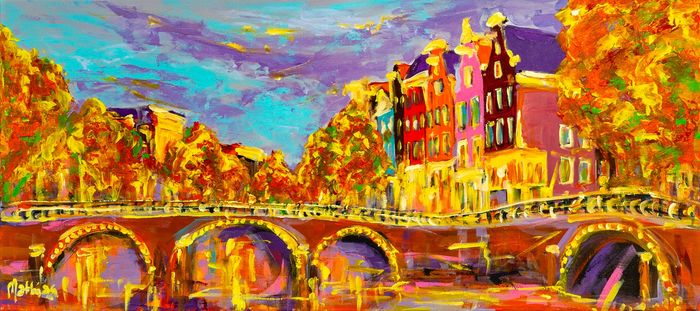 Mathias - Impressions of Amsterdam, autumn evening