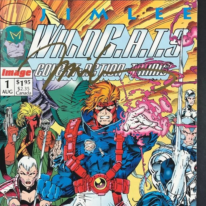 Image x49 Issue:  - Wildcats Covert Action Teams + #1 Signed By Jim Lee - First edition