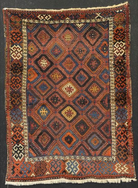 Antique Anatolian Kurdish (Devebasmasi) - Rug - 200 cm - 120 cm