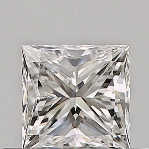 1 pcs Diamond - 0.35 ct - Princess - E - VVS2, ***no reserve***