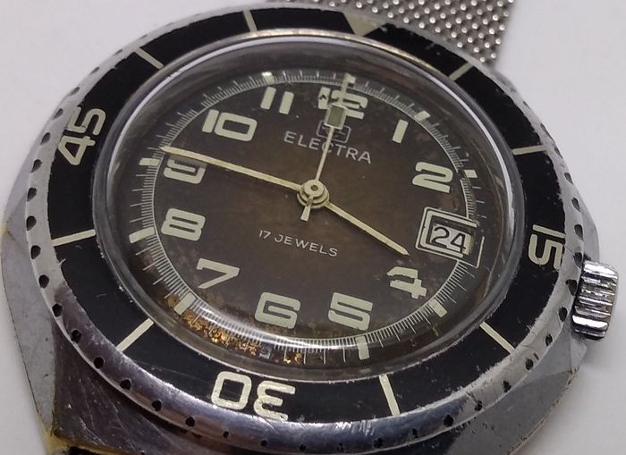Electra - Lip - Diver  - Caliber FE 140 - Men - 1970-1979